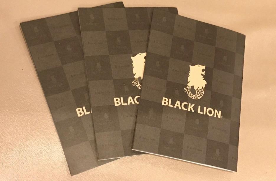 ☆ 2020年BLACKLIONカタログ ☆