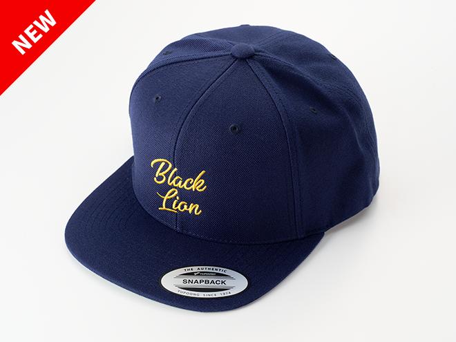 BLACKLION newLOGO FLAT CAP(ネイビー)