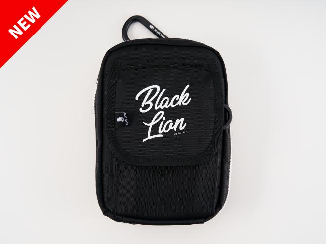 BLACKLION-newLOGO-エギワレット(カラビナ付き)
